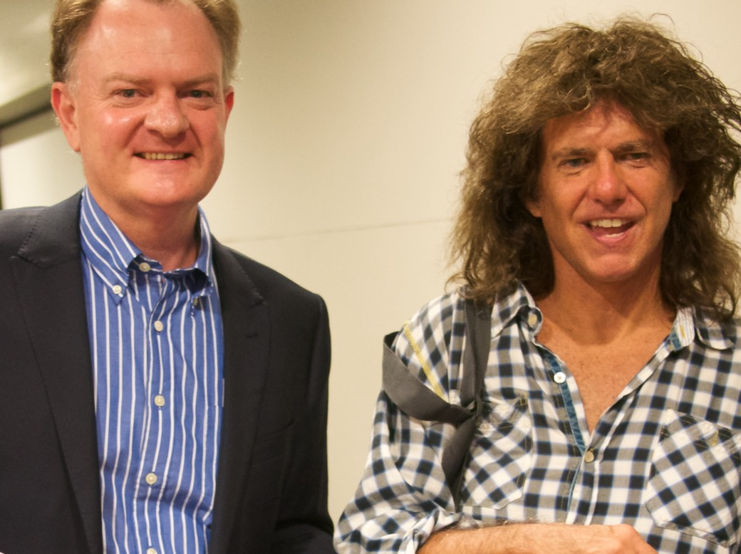 Meeting Pat Metheny, Oct 2014, Melbourne